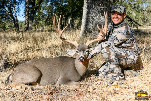 California C3 Zone Super Blacktail Buck Taken By SC2 Outdoors Client
