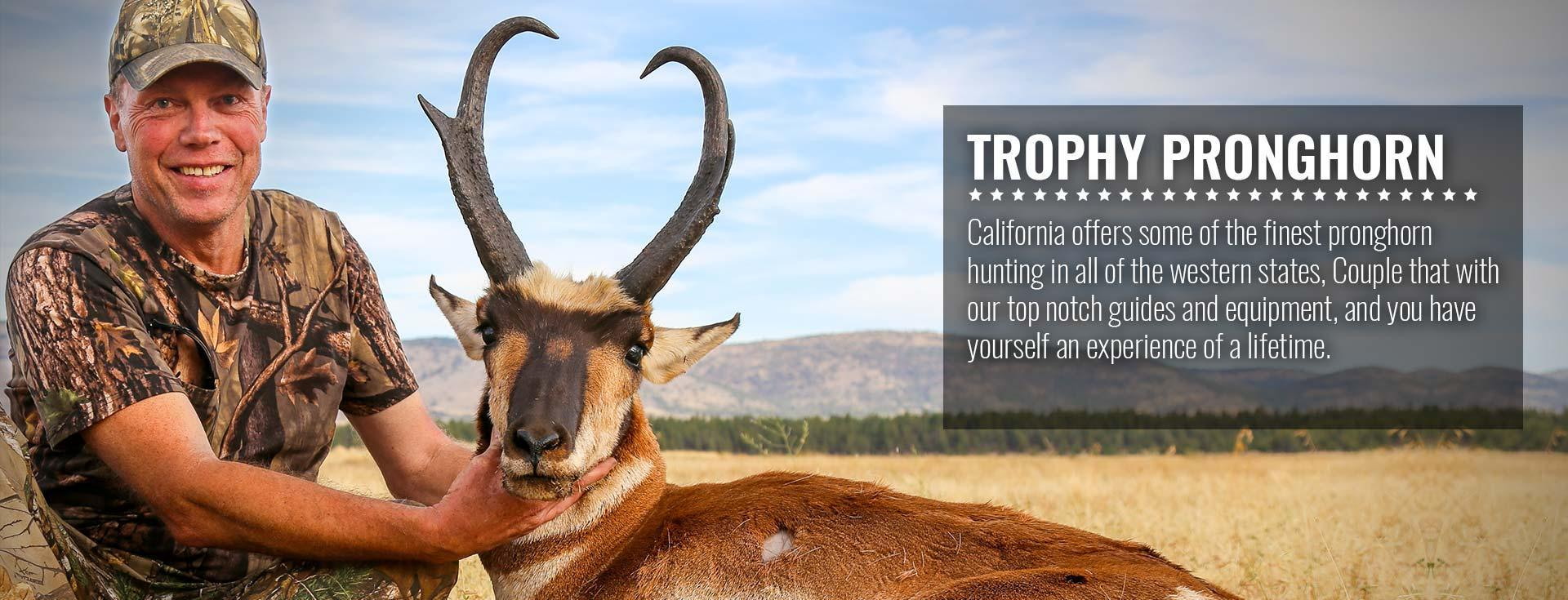 Trophy Pronghorn Antelope Hunting in California with SC2 Outdoors