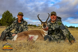 Rusty P with a hard earned 2019 Likely Tables Period 2 Pronghorn