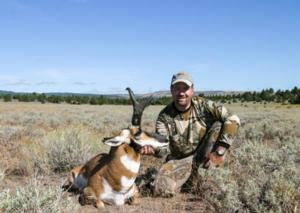 2004 California Pronghorn Antelope Zone 6 Surprise Valley taken by Shawn Chittim of SC2 Outdoors